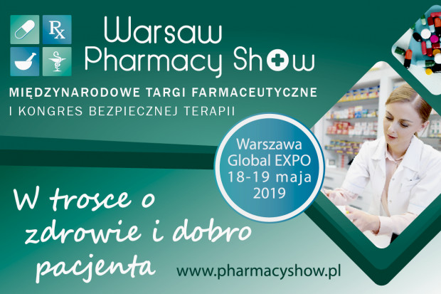 Warsaw Pharmacy Show - save the date: 18-19 maja 2019