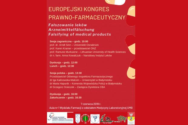 Białystok: kongres poświęcony fałszowaniu leków