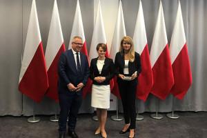 Właściciele polskiej firmy farmaceutycznej odznaczeni medalem