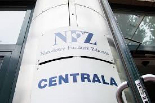 Zrządzenie ws. regulaminu organizacyjnego Centrali NFZ