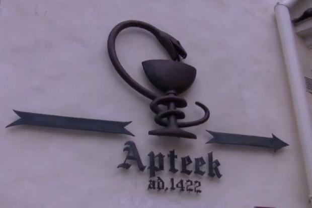 Estonia: apteka, która istnieje w tym miejscu od 1422 roku
