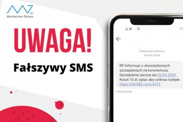 SMS-y o szczepieniach na koronawirusa to fake news!