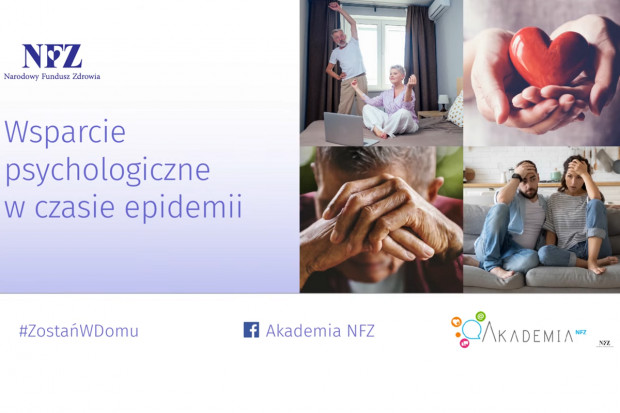 NFZ: epidemia może wywoływać zaburzenia stanów emocjonalnych
