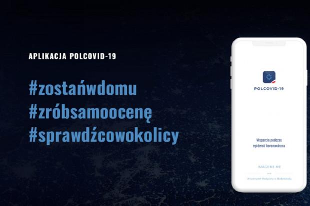 Aplikacja obrazuje skalę ryzyka zakażenia koronawirusem w Polsce