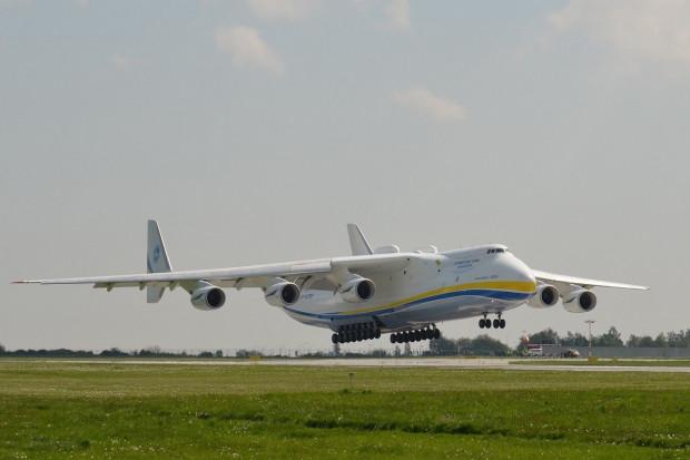 Warszawa: 14 kwietnia wyląduje Antonov 225 ze środkami ochrony