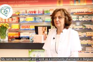 Farmaceutka z Belgii zachęca do idei szczepień