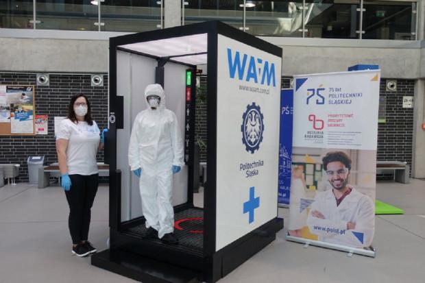 Odkażająca brama - doceniona innowacja naukowców z Politechnik Śląskiej