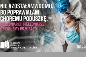 Kampania w podziękowaniu dla pielęgniarek za pracę w czasie pandemii