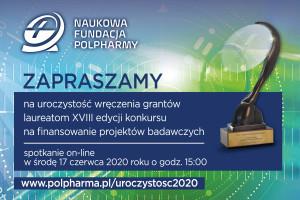 XVIII edycja Naukowej Fundacji Polpharmy: ponad 1,6 mln zł na granty