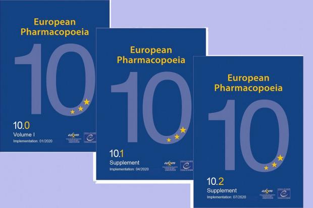 Suplement 10.2 wprowadza zmiany do 10. wydania Farmakopei Europejskiej