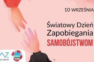 10 września: Światowy Dzień Zapobiegania Samobójstwom