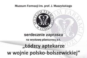 Łódzcy aptekarze w wojnie polsko-bolszewickiej
