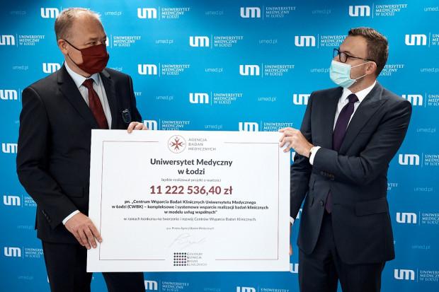ABM: 11 mln zł na Centrum Wsparcia Badań Klinicznych przy UM w Łodzi