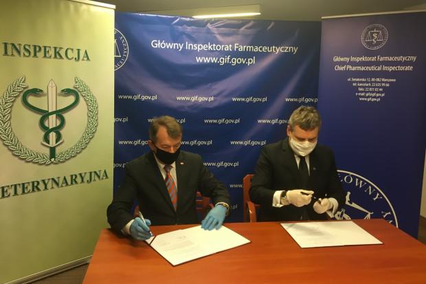 Porozumienie między inspekcjami ws. bezpieczeństwa zdrowia ludzi i zwierząt