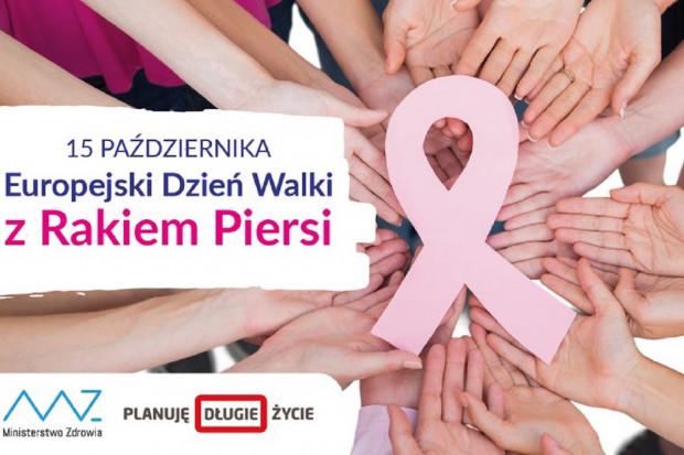 15 października: Europejski Dzień Walki z Rakiem Piersi