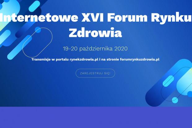 Internetowe XVI Forum Rynku Zdrowia. Plan transmisji na dziś