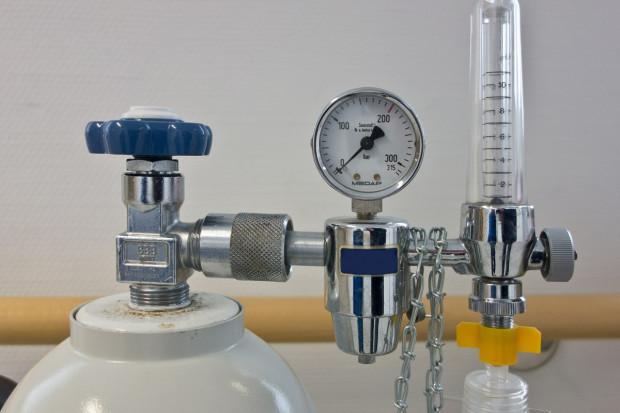 PFGT: liczba butli do transportowania tlenu medycznego jest ograniczona