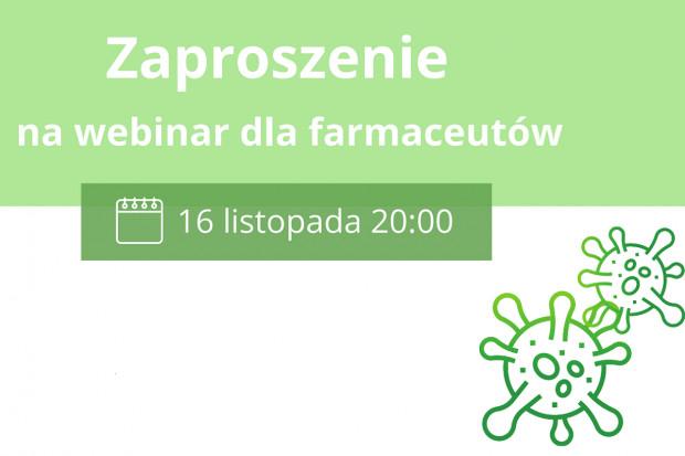 Webinar: będzie m.in. o szczepieniach w aptekach