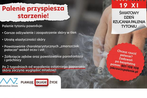 Palenie tytoniu: przyspiesza starzenie, powoduje konsekwencje zdrowotne