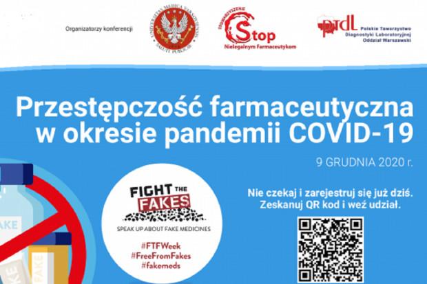Konferencja: Przestępczość farmaceutyczna w okresie pandemii Covid-19