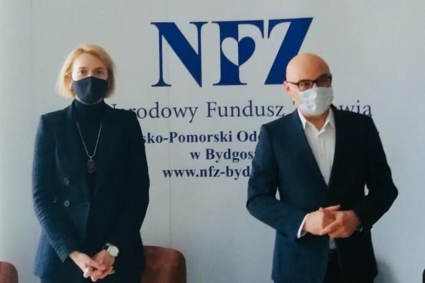 Małgorzata Dziedziak szefową NFZ w Bydgoszczy