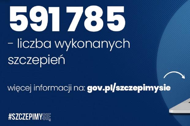 21 stycznia: 45,6 tys. zaszczepionych dobowo