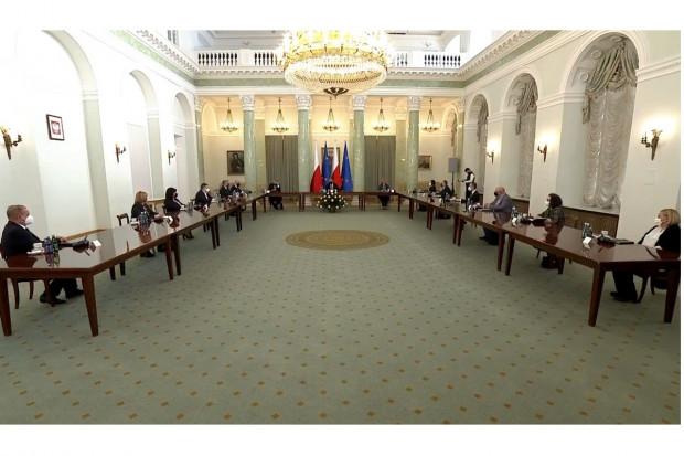 Rozczarowanie po spotkaniu u prezydenta. Nawet ich nie zaprosił