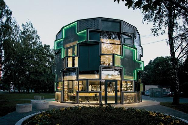 Ta apteka może wygrać w konkursie architektonicznym na najlepszy obiekt