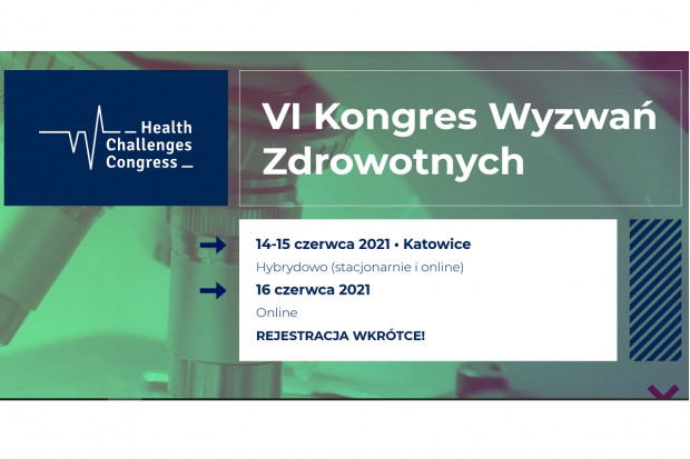VI Kongres Wyzwań Zdrowotnych: mamy zakres tematyczny
