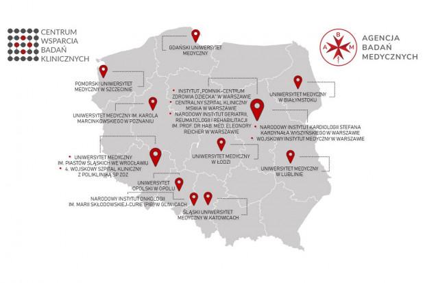 Nowe centra w Polskiej Sieci Badań Klinicznych
