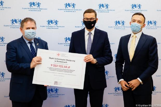 Ponad 9,3 mln zł dla SUM na ośrodek badania wczesnych faz